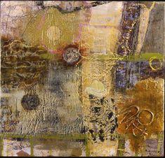 Encaustic art. Lovely textures