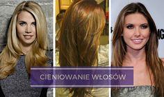 Cieniowanie włosów: Włosy proste czy cieniowane?   Galeria