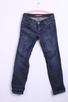 Bright Star Mens W32 L 33 Jeans Trousers Cotton