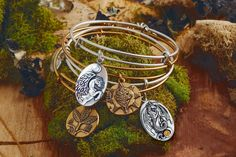 Alex and Ani Discover your Meaning Bangle stack competition