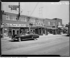 Old photos of Toronto allow us to revisit the past of a city with very interesting history. While photos of every day life are often used for study. Edgewater Hotel, Toronto Ontario Canada, Interesting History, West End, Continents, Old Photos, Signage, Past, That Look