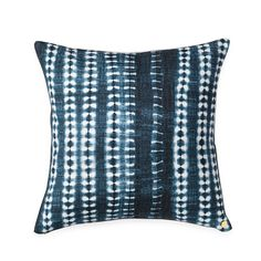Indigo Vines Printed Pillow - shop st frank