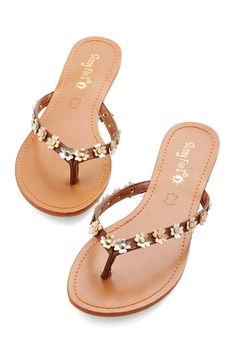 For What Glitz Worth Sandal | Mod Retro Vintage Sandals | ModCloth.com