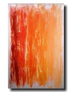 Original Large Abstract painting 24 X 36 Artist par JMJARTSTUDIO