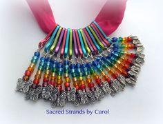 Cursillo Palanca pack of 18 each multi by SacredStrandsbyCarol, $15.00