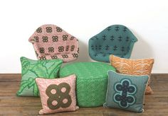 eva sonaike cushions and chairs