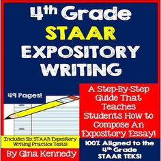 expository writing interactive notebook expository writing  staar expository essay interactive writing notebook and practice tests