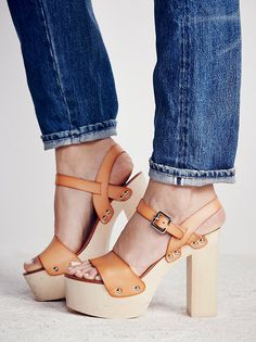 Vegan Milena Platform Clog from Free People!