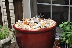 DIY fountain - this looks easy enough I can do this myself!