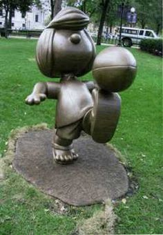 Peppermint Patty - Landmark Park Saint Paul Minnesota