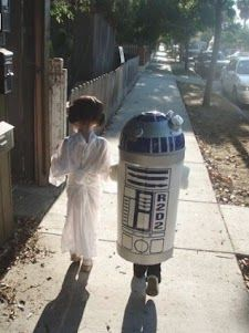 The Princess and R2!