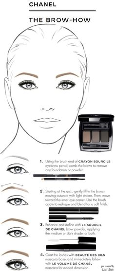 Chanel - The Brow How Tutorial
