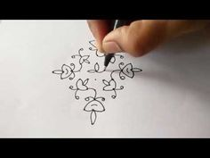 how to draw 11-1 ner pulli lamp kolam - Dr.N.V.S.Sree Rathna Lakshmi