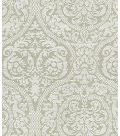 Upholstery Fabric-Waverly Bright Idea Platinum at Joann.com