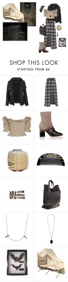 """They Called Her ""Witch"""" by vulture95 ❤ liked on Polyvore featuring AllSaints, Beaufille, Brock Collection, Maison Margiela, CÉLINE, Skyler Man, Wallis and WALL"