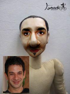 Tú en muñeco. Esta personalización basada en el actor Miguel Rodarte, para una producción de cinematográfica. Pedidos kurucuchi@gmail.com