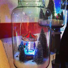 Jardi +: bonbonnière déco Noel mini caroussel