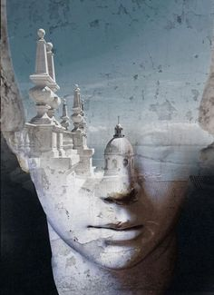 fantasy Portraits by Antonio Mora - Art People Gallery Creative Photography, Art Photography, Double Exposure Photography, Surreal Photos, Fantasy Portraits, Multiple Exposure, Photoshop, Spanish Artists, Foto Art