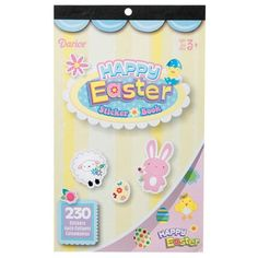 Darice® Sticker Book - Happy Easter - 230 stickers