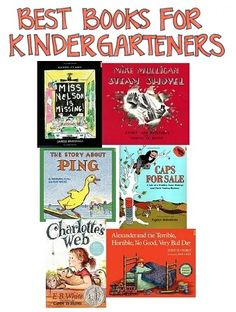A Selection of the Books for Kindergarteners Selected by Cross-Referencing Numerous Best-Books-for-Kids Books