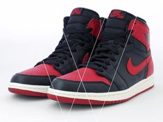 ab564fa63d5 Learn how to spot fake Nike Air Jordan 1 Retro's with this detailed 19  point step-by-step guide by goVerify.