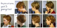 unspeakable visions: the pixie cut series, part 3: growing it out...just in case I decide to do so one day...