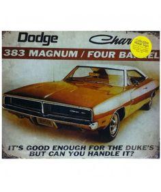 Dodge Charger 383 Magnum / Four Barrel Metal Print