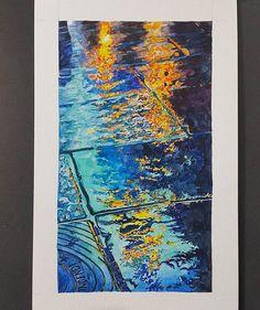 rainy street at night #엄청멀리서봐야멋짐 #세상어려움 #watercolorpainting #watercolour_gallery #watercolorart #aquarelle #cartel_watercolorists #watercolors #inspiration #artsy #watercolour #street #night #rain #rainyday #light #야경 #밤 #artstudio #ground37c #강남 #신논현 #일상 #daily #drawing #painting #instaart #그림 #그림스타그램 #수채화
