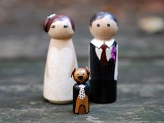 Cutest Wedding Cake Toppers You Ever Did See