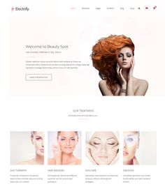 This spa and beauty salon theme for WordPress features WooCommerce and WPML support, a responsive layout, support for 7 post formats, a mega menu, a drag and drop page builder, 2 premium sliders, an Ajax contact form, and more.
