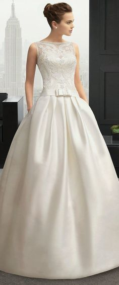 58 Ideas Bridal Gowns Sophisticated Bride Rosa Clara For 2019 Dream Wedding Dresses, Bridal Dresses, Wedding Gowns, Bridesmaid Dresses 2018, Ball Dresses, Ball Gowns, Event Dresses, Long Dresses, Simple Dresses