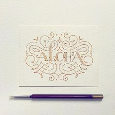 31 Superb Hand Lettering Designs | From up North