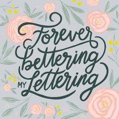 Forever Better My Lettering