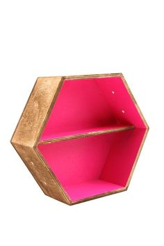 small hexe shadow box HOT PINK I know just the room for it