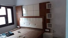 Bedroom is the place of home.We also need lots of furniture to make the room Just like a wardrob in the room. Wood Bed Design, Bedroom Bed Design, Bedroom Designs Images, Bed Designs, Cots, Wood Beds, Manish, Bedroom Furniture, Bedrooms