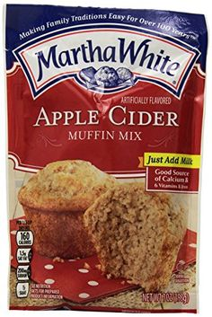 Martha White Apple Cider Flavored Muffin Mix 7 Ounce Pack of 12 *** You can find more details by visiting the image link.(This is an Amazon affiliate link and I receive a commission for the sales)