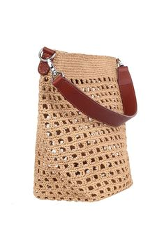 Shop Women's Dolce & Gabbana Totes and shopper bags on Lyst. Track over 3977 Dolce & Gabbana Totes and shopper bags for stock and sale updates. Crochet Tote, Crochet Handbags, Crochet Purses, Simple Bags, Shopper Bag, Knitted Bags, Handmade Bags, Purses And Handbags, Blog