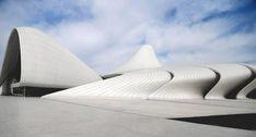 Zaha Hadid's- Heydar Aliyev Cultural Centre, Baku, Azerbaijan.