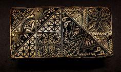 Check out the deal on Vintage Handmade Indonesian Copper Batik Stamp/Cap/Tjap- Patchwork at artisticartifacts.com