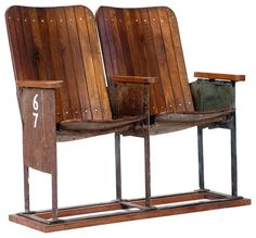 Original 1920's cinema seats- available to pre-order