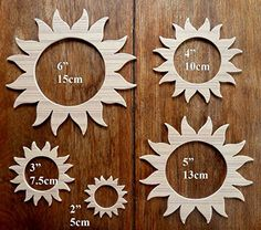 A Wonderful Set Of 5 Different Sized MDF 'Sun' Drawing Templates by Greg Ledder http://www.amazon.co.uk/dp/B011KYZA3G/ref=cm_sw_r_pi_dp_dWrPvb1AWHKRN