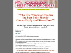 ① The Golden Book Of Baby Shower Games - http://www.vnulab.be/lab-review/%e2%91%a0-the-golden-book-of-baby-shower-games-2