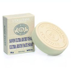 L'Occitane makes a face soap? Must try!