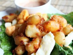 Wisconsin Beer Battered Cheese Curds | Tasty Kitchen: A Happy Recipe Community!  used grapeseed oil instead :)  mmm