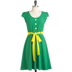 Buttercup of Sugar Dress ($55) ❤ liked on Polyvore