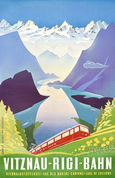 Vitznau-Rigi-Bahn / Vierwaldstättersee. Lac des Quatre Cantons. Lake of Lucerne / Zentralschweiz. Suisse Centrale. Central Switzerland.