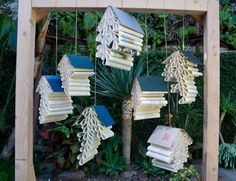 Hanging Book Ceremony Backdrop : Bramble Workshop