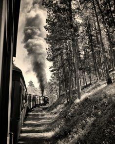 500px / Photo Steam Train by James Kirk
