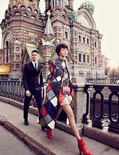 Publication: Vogue Russia September 2014 Model: Lindsey Wixson Photographer: Alexi Lubomirski