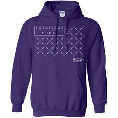 Twenty One Tshirt Pilot Fancy T-Shirt-01 Pullover Hoodie 8 oz